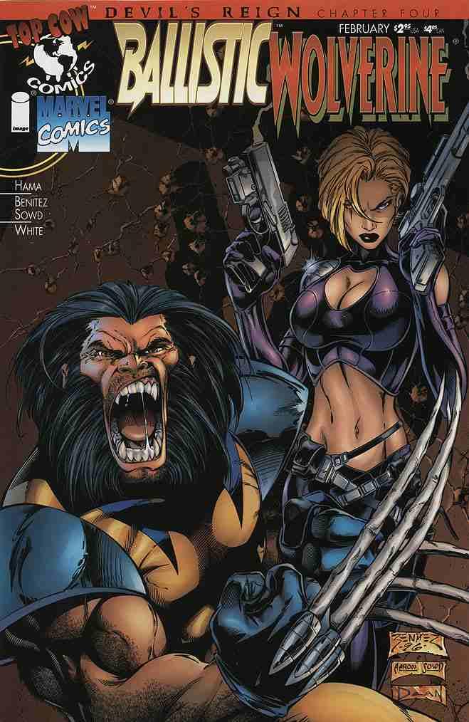 Ballistic/Wolverine comic issue 1