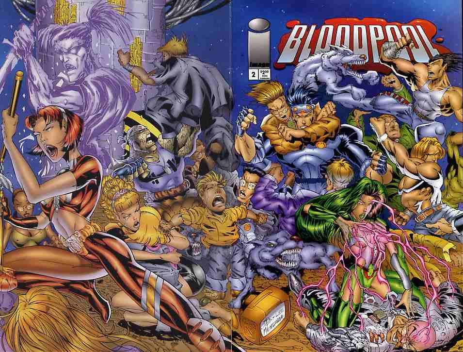 Bloodpool comic issue 2