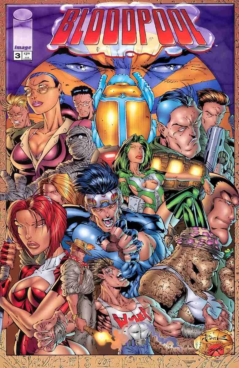 Bloodpool comic issue 3