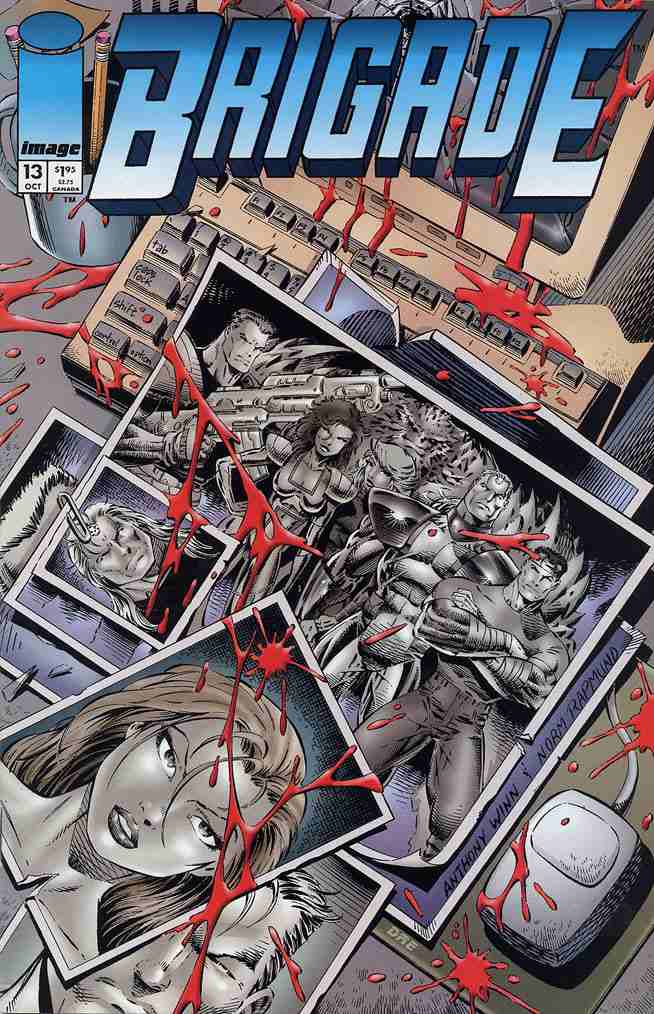 Brigade comic issue 13