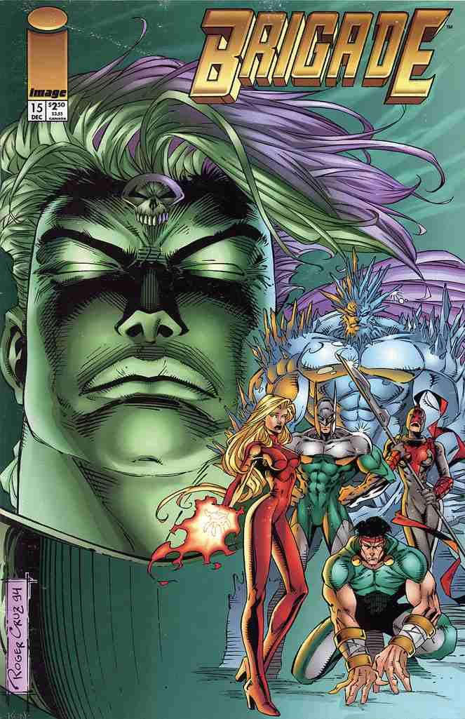Brigade comic issue 15