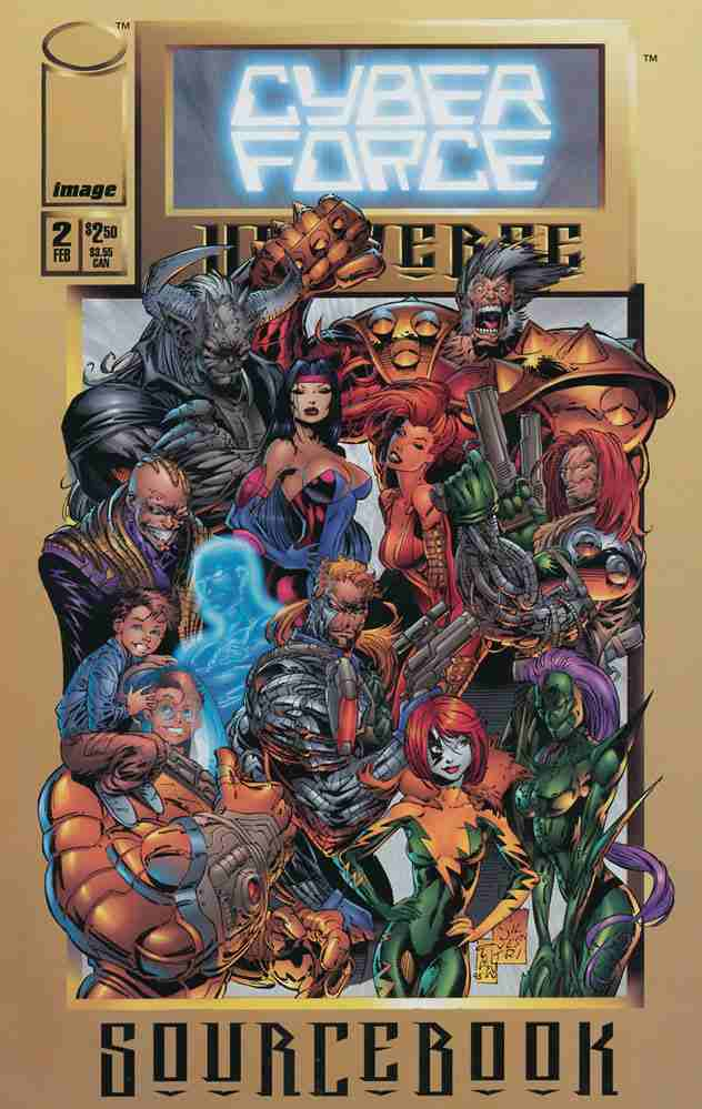 Cyberforce Universe Sourcebook comic issue 2