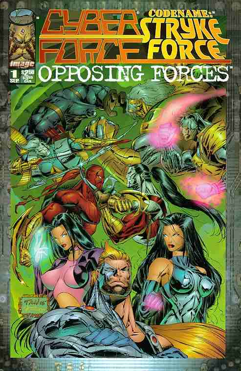 Cyberforce, Stryke Force: Opposing Forces comic issue 1