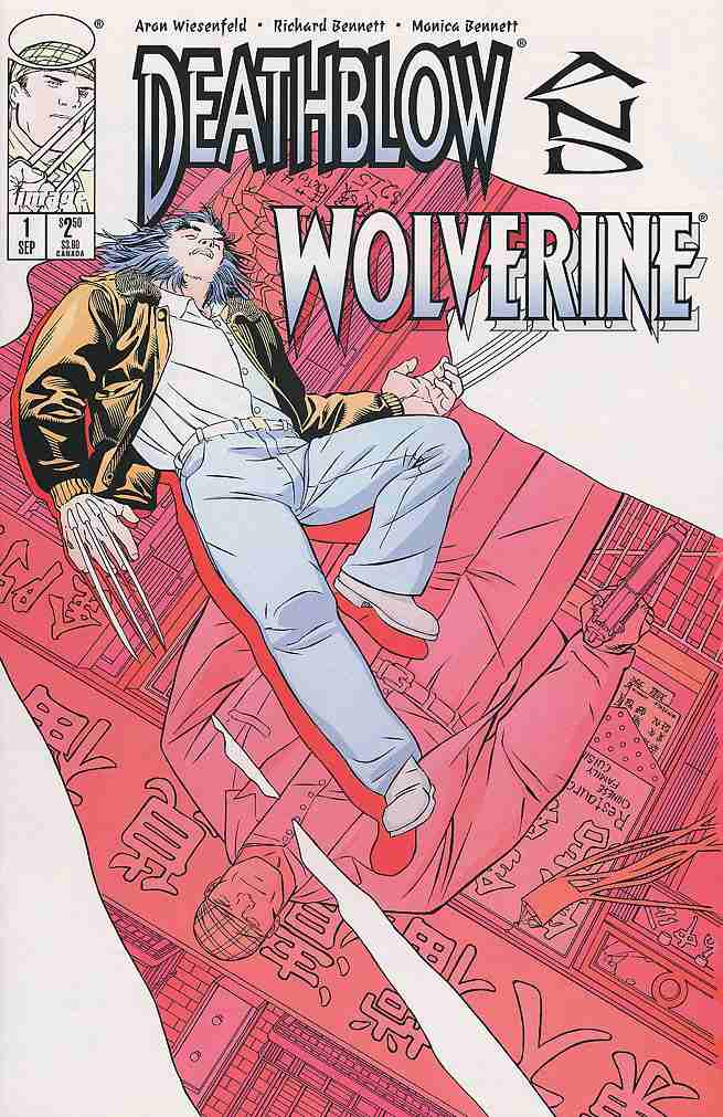 Deathblow/Wolverine comic issue 1
