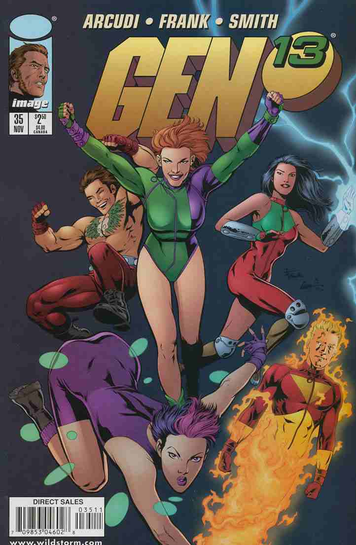 Gen13 comic issue 35