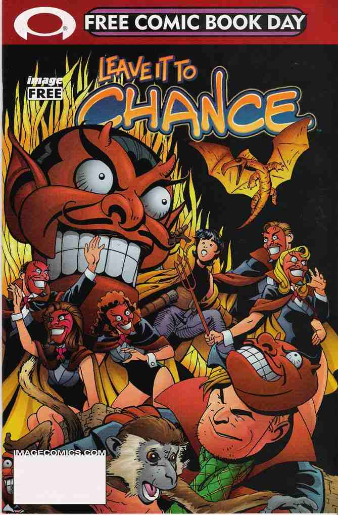 Leave it to Chance comic issue 2002