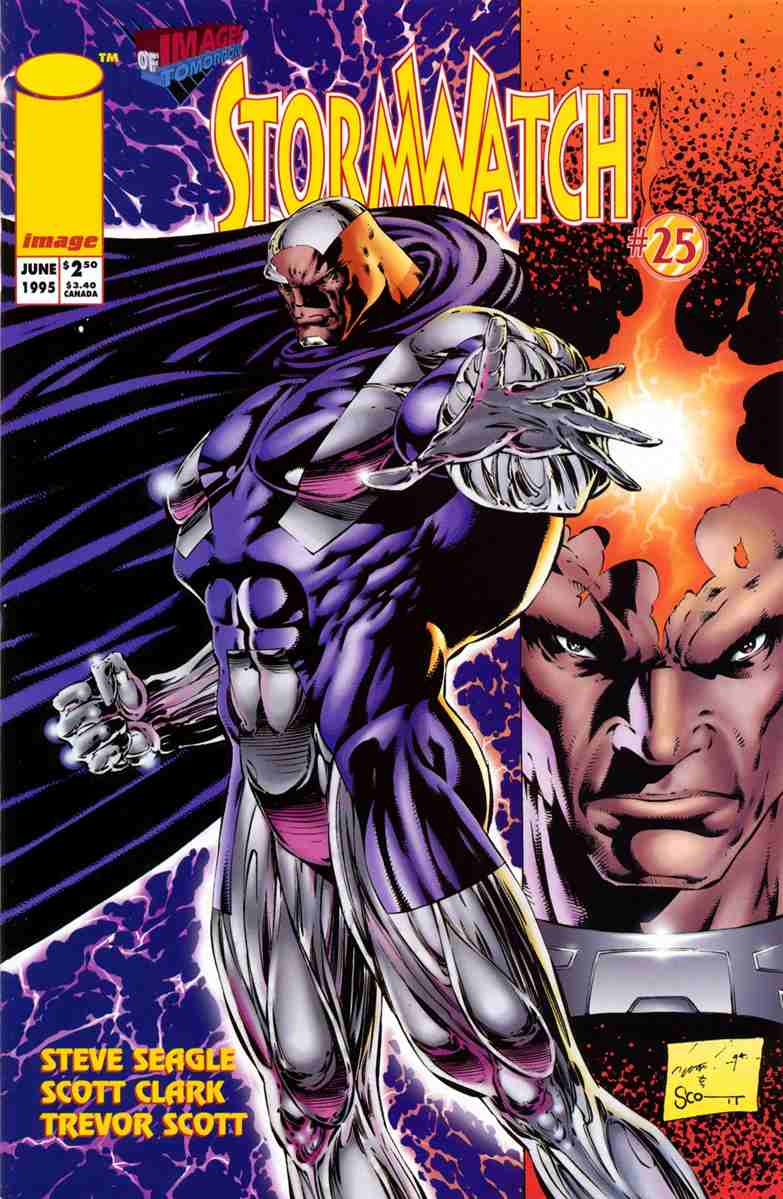 StormWatch comic issue 25