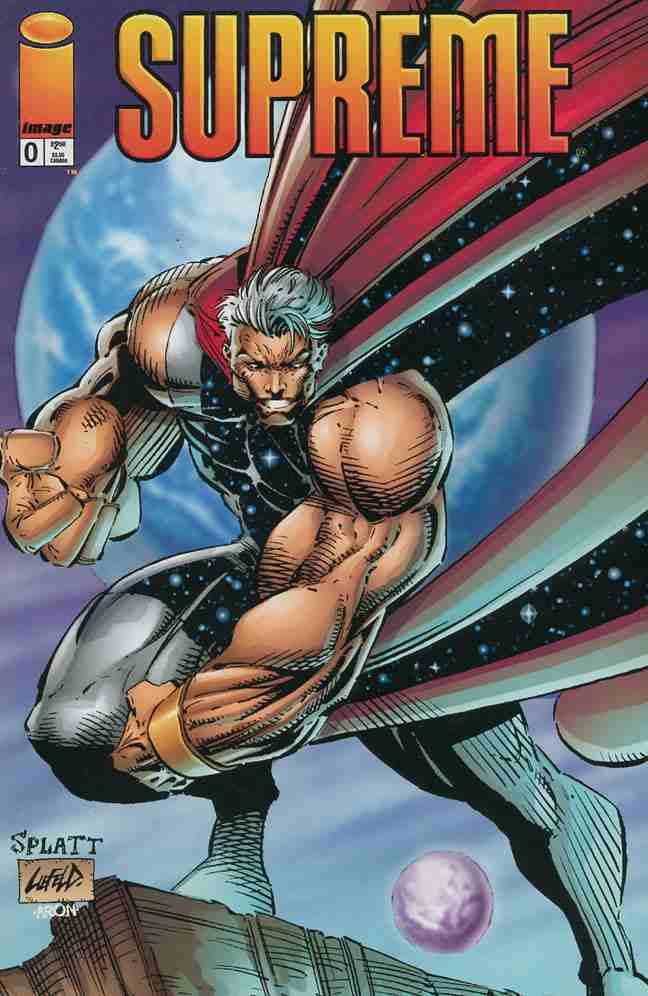 Supreme comic issue 0