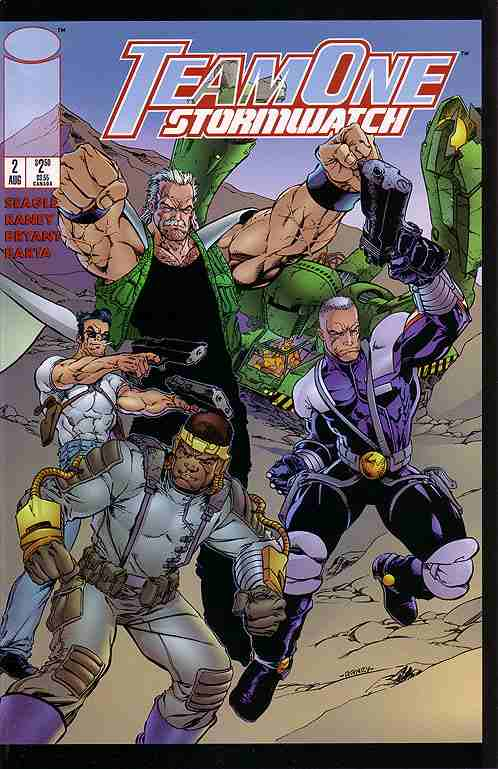 Team One: StormWatch comic issue 2