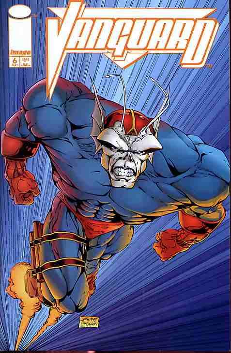 Vanguard comic issue 6