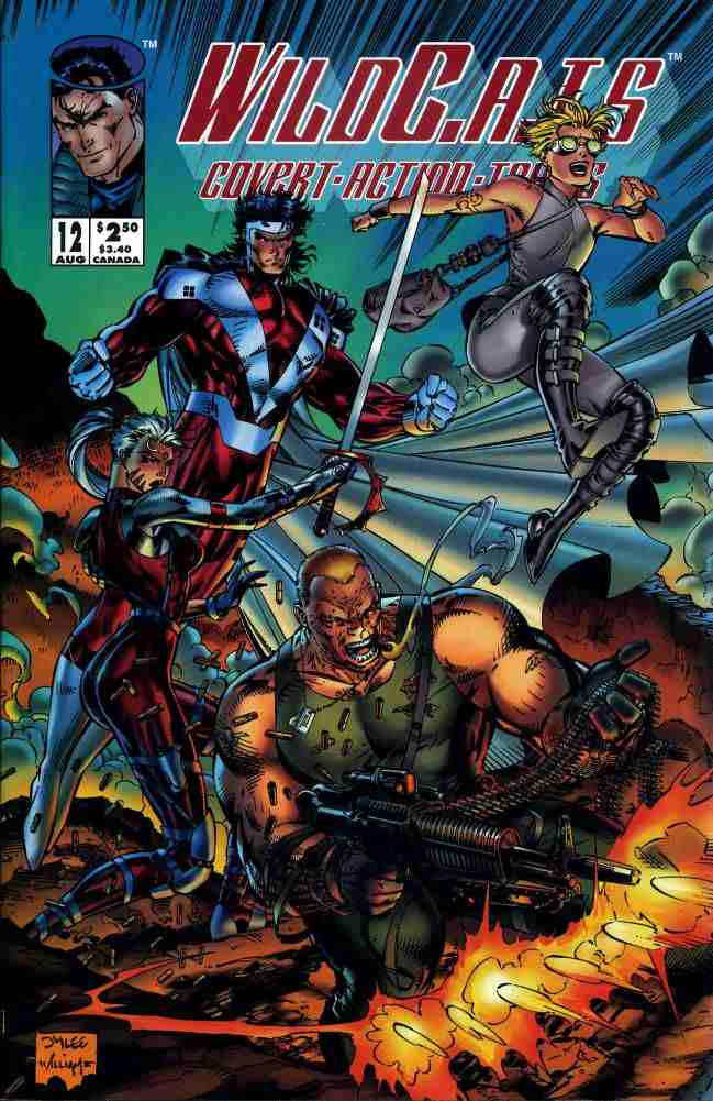 WildC.A.T.s comic issue 12