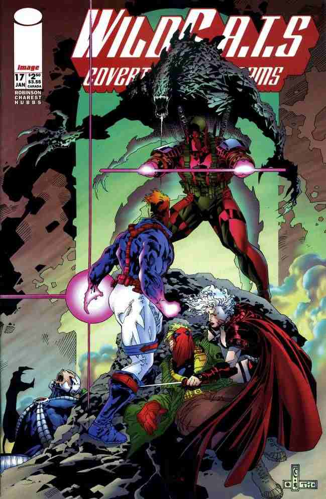 WildC.A.T.s comic issue 17