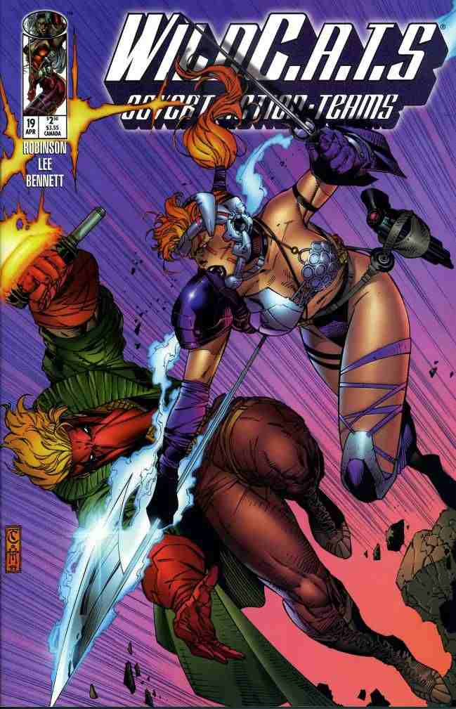 WildC.A.T.s comic issue 19