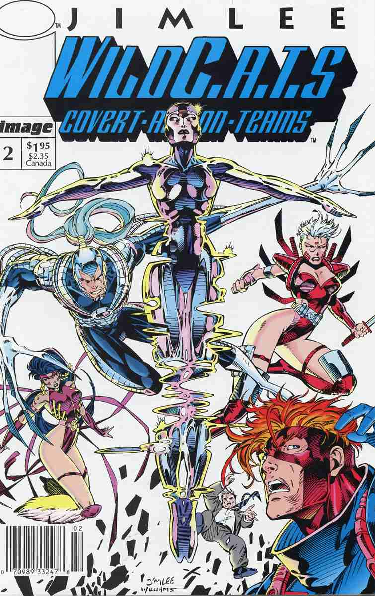 WildC.A.T.s comic issue 2
