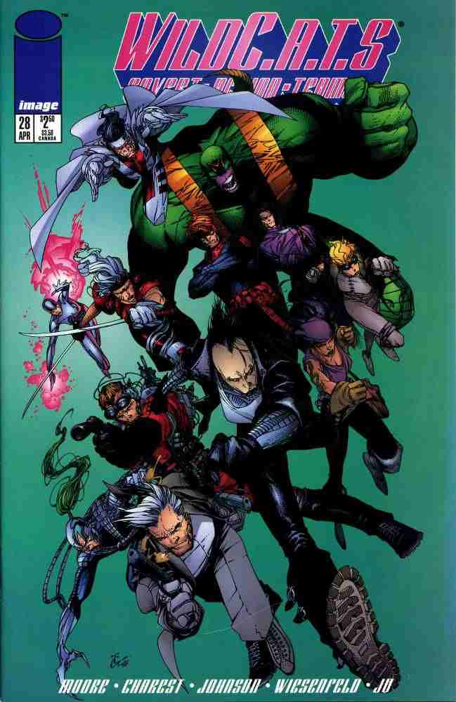 WildC.A.T.s comic issue 28