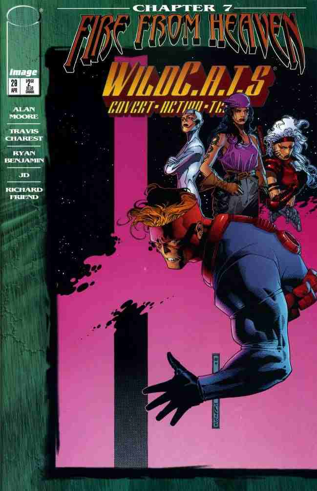 WildC.A.T.s comic issue 29