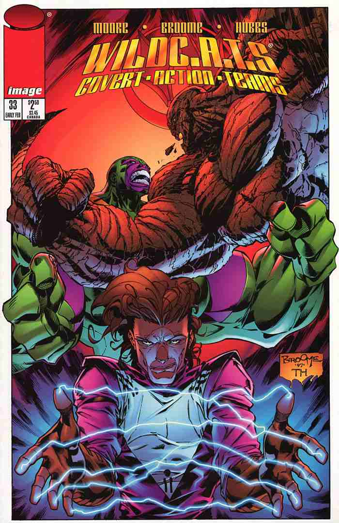 WildC.A.T.s comic issue 33