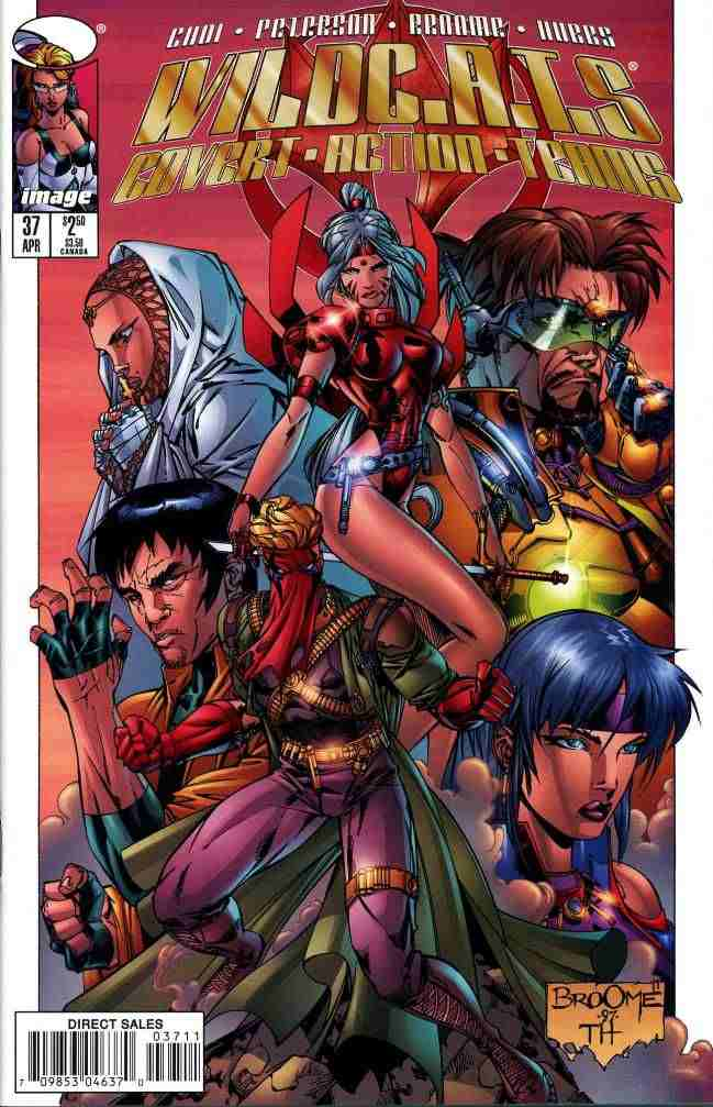WildC.A.T.s comic issue 37