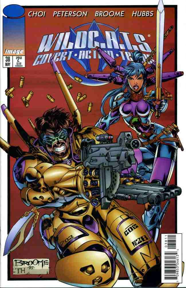 WildC.A.T.s comic issue 38