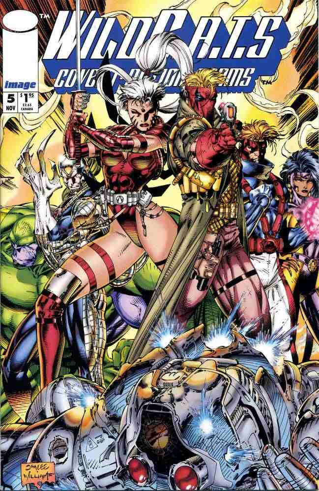 WildC.A.T.s comic issue 5