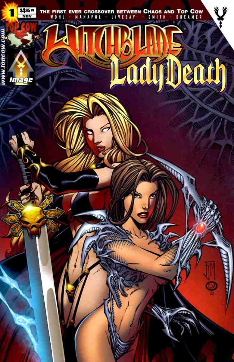 Witchblade/Lady Death comic issue 1