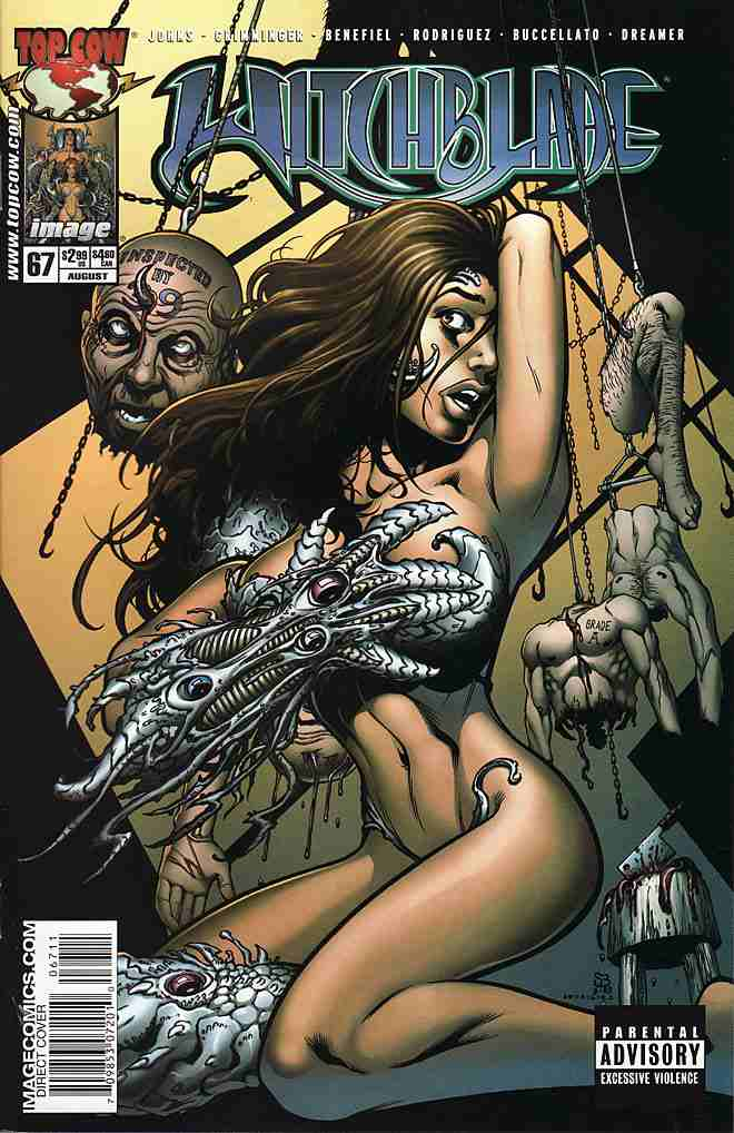 Witchblade comic issue 67