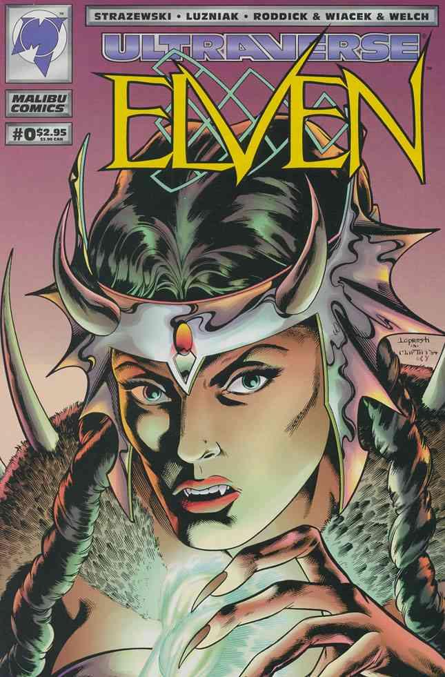Elven comic issue 0