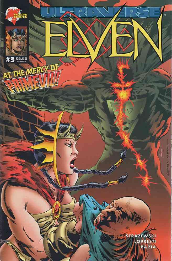 Elven comic issue 3