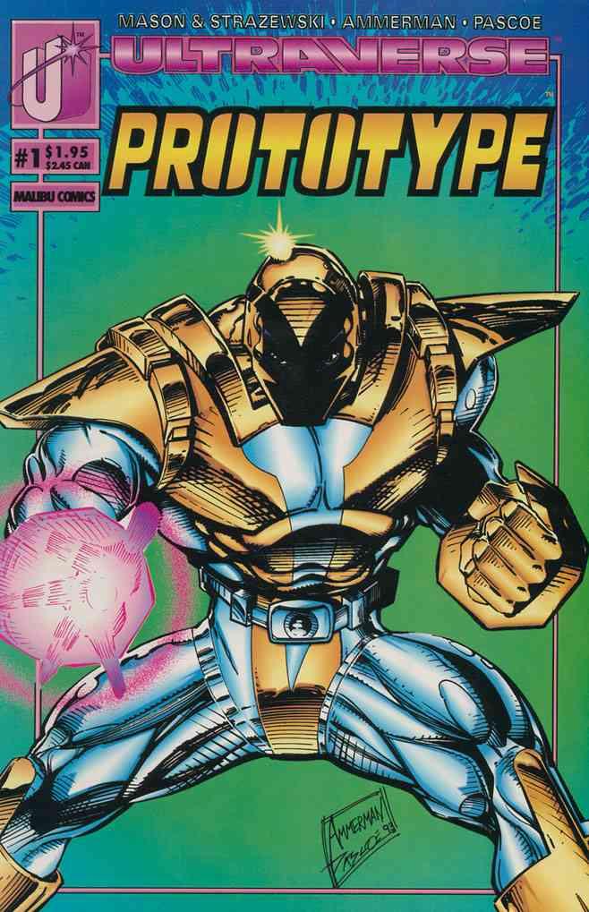Prototype comic issue 1