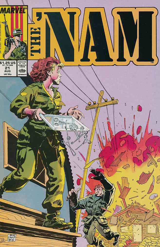 'Nam, The comic issue 21