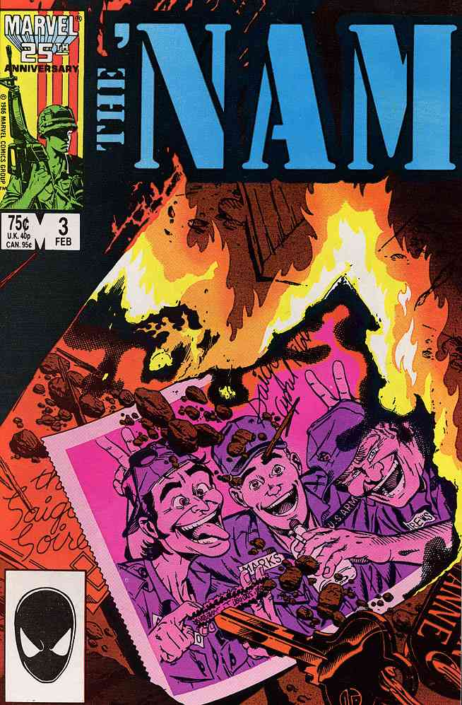 'Nam, The comic issue 3
