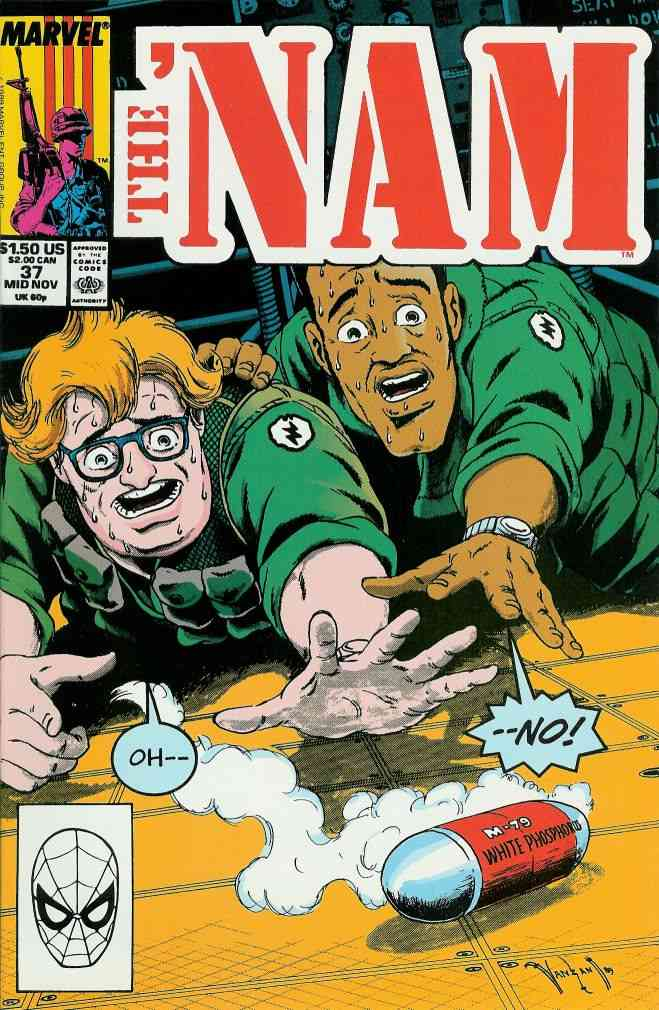 'Nam, The comic issue 37