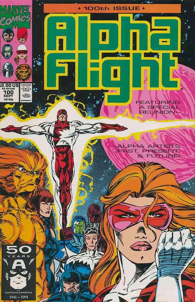 Alpha Flight (1st Series) comic issue 100