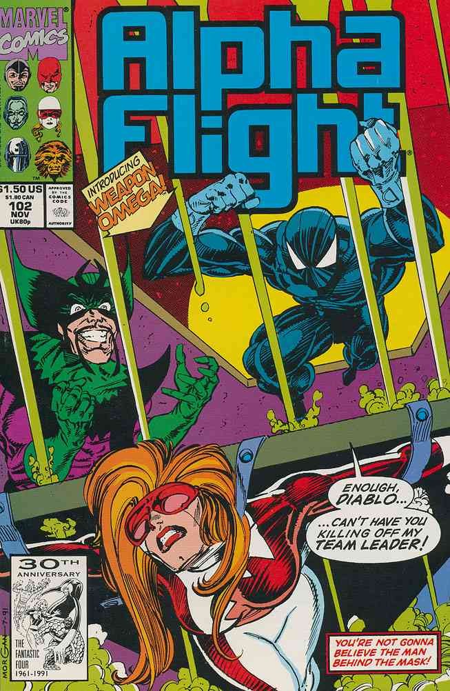 Alpha Flight (1st Series) comic issue 102