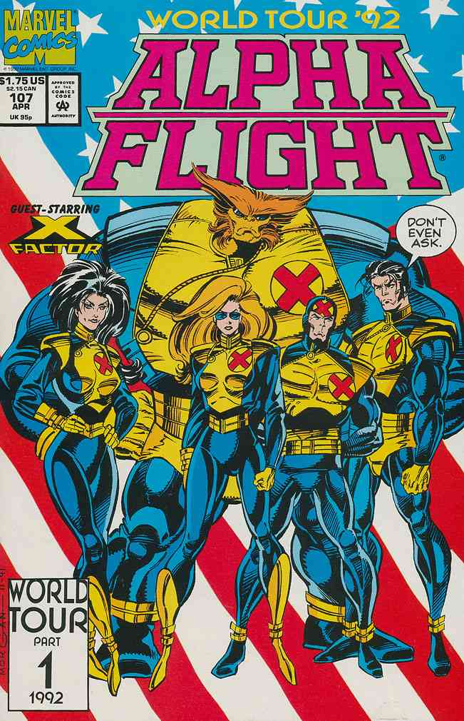 Alpha Flight (1st Series) comic issue 107