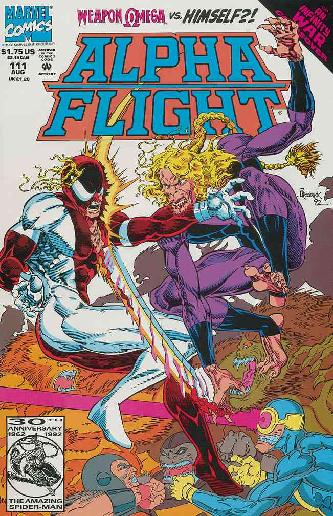 Alpha Flight (1st Series) comic issue 111