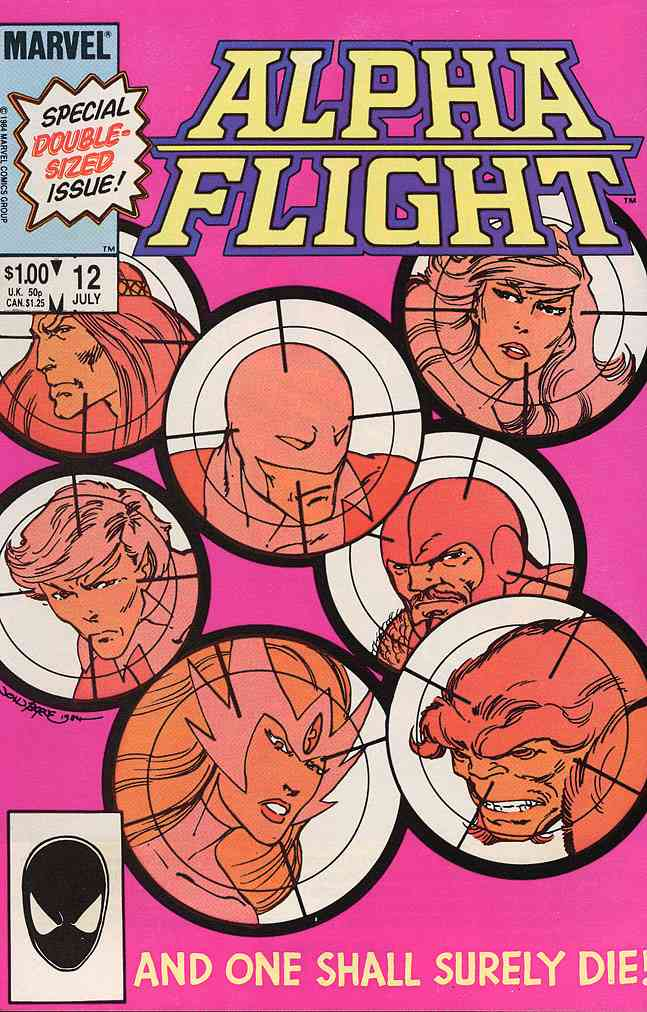 Alpha Flight (1st Series) comic issue 12