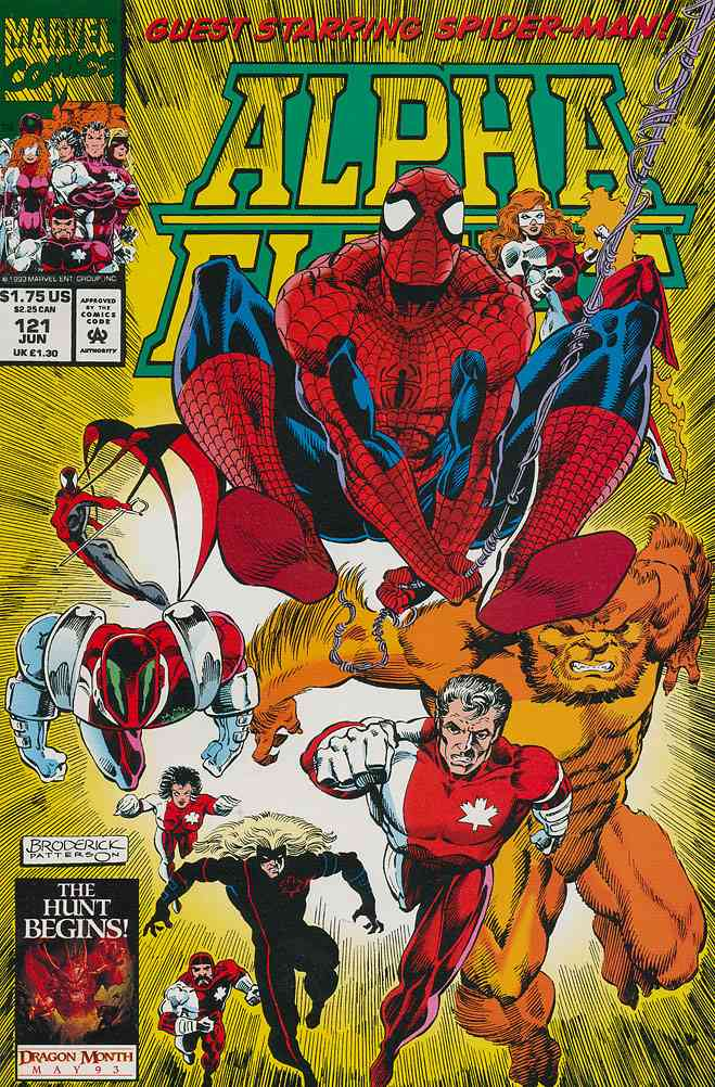 Alpha Flight (1st Series) comic issue 121