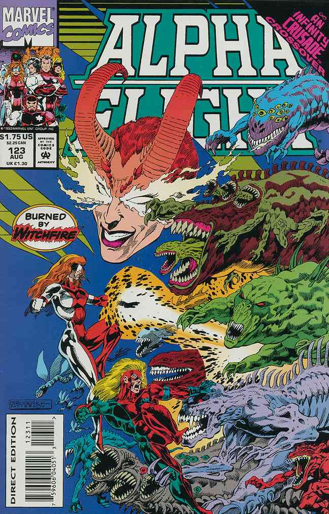 Alpha Flight (1st Series) comic issue 123