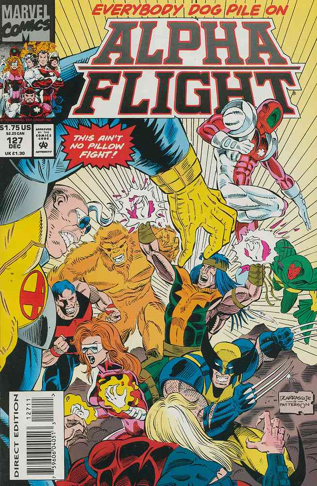 Alpha Flight (1st Series) comic issue 127