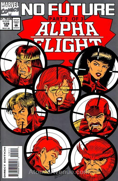 Alpha Flight (1st Series) comic issue 129