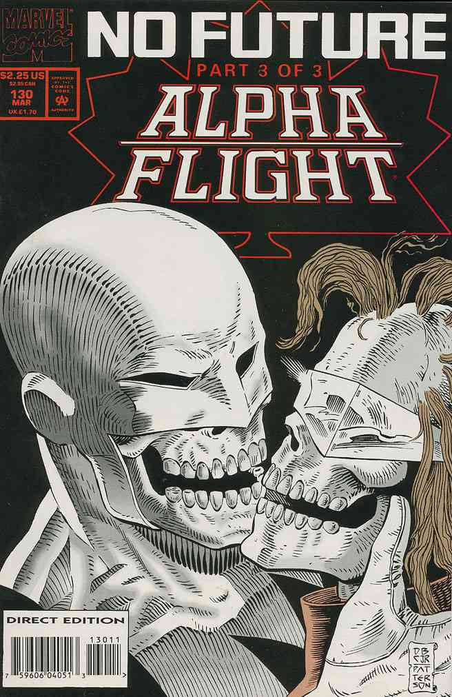 Alpha Flight (1st Series) comic issue 130
