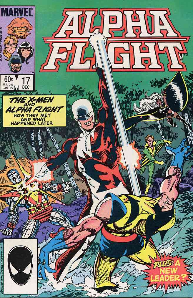 Alpha Flight (1st Series) comic issue 17