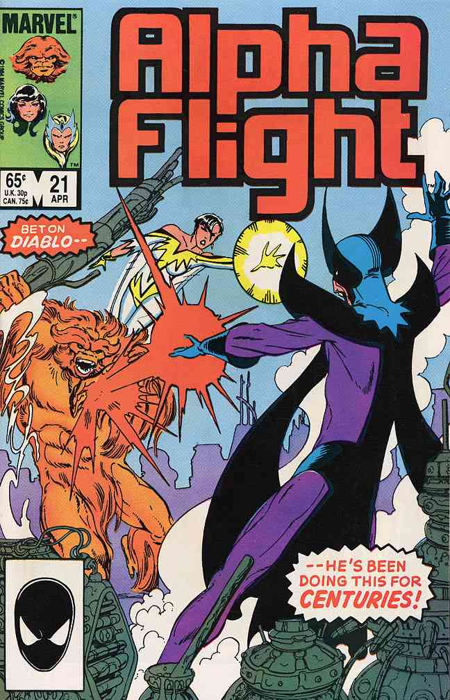 Alpha Flight (1st Series) comic issue 21