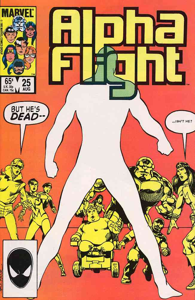 Alpha Flight (1st Series) comic issue 25