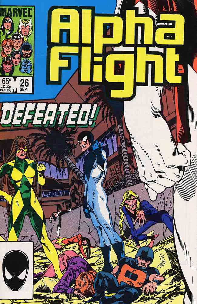 Alpha Flight (1st Series) comic issue 26
