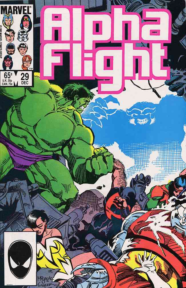 Alpha Flight (1st Series) comic issue 29