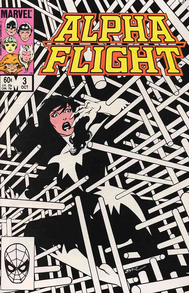 Alpha Flight (1st Series) comic issue 3