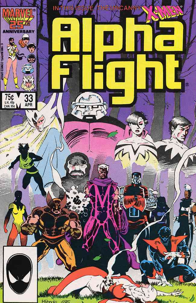 Alpha Flight (1st Series) comic issue 33