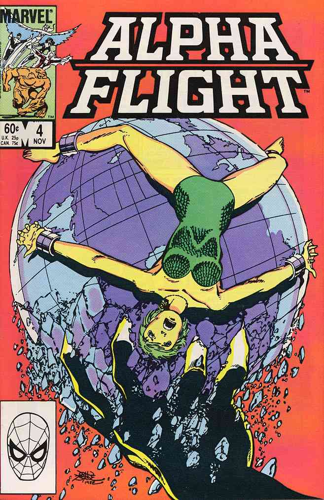Alpha Flight (1st Series) comic issue 4